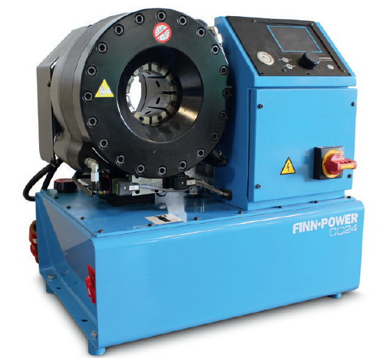 Crimping and cutting machinery Finn Power presses